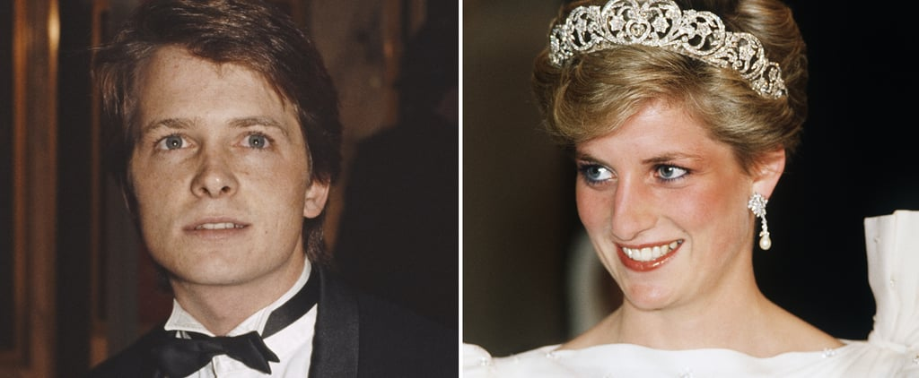 Michael J. Fox & Princess Diana Back to the Future Premiere