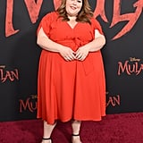 Chrissy Metz at the World Premiere of Mulan in LA