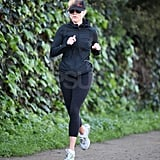 Reese Witherspoon Chases a Family Weekend With a Solo Run