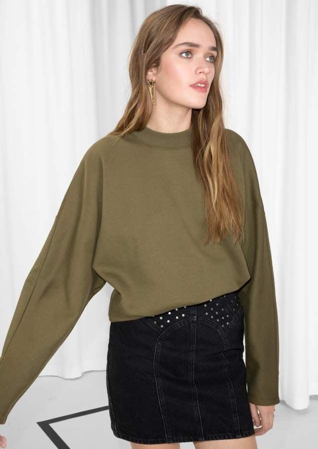 Oversized Sleeve Sweater ($55)