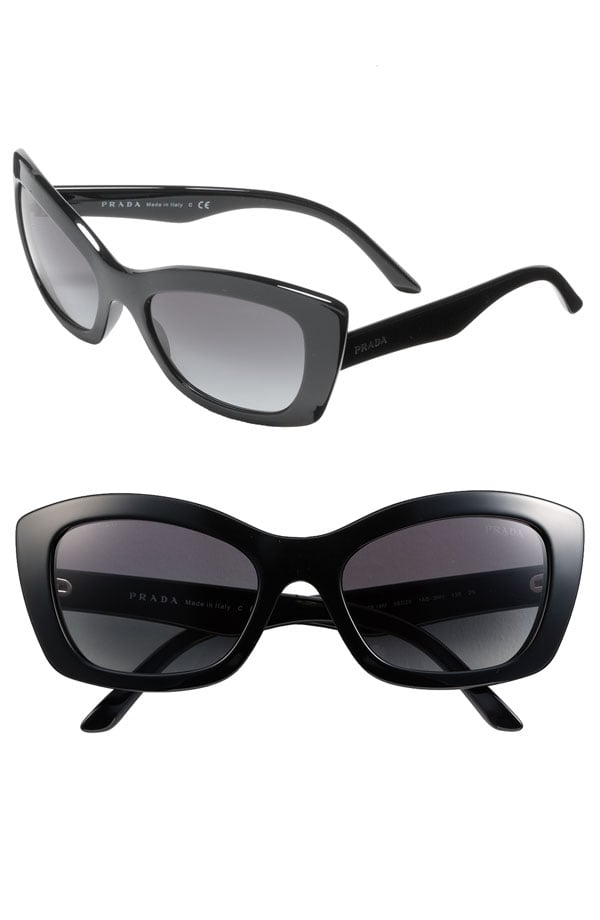 Prada Rectangular Cat's Eye Sunglasses ($205)