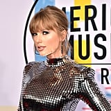 Taylor Swift at the 2018 American Music Awards