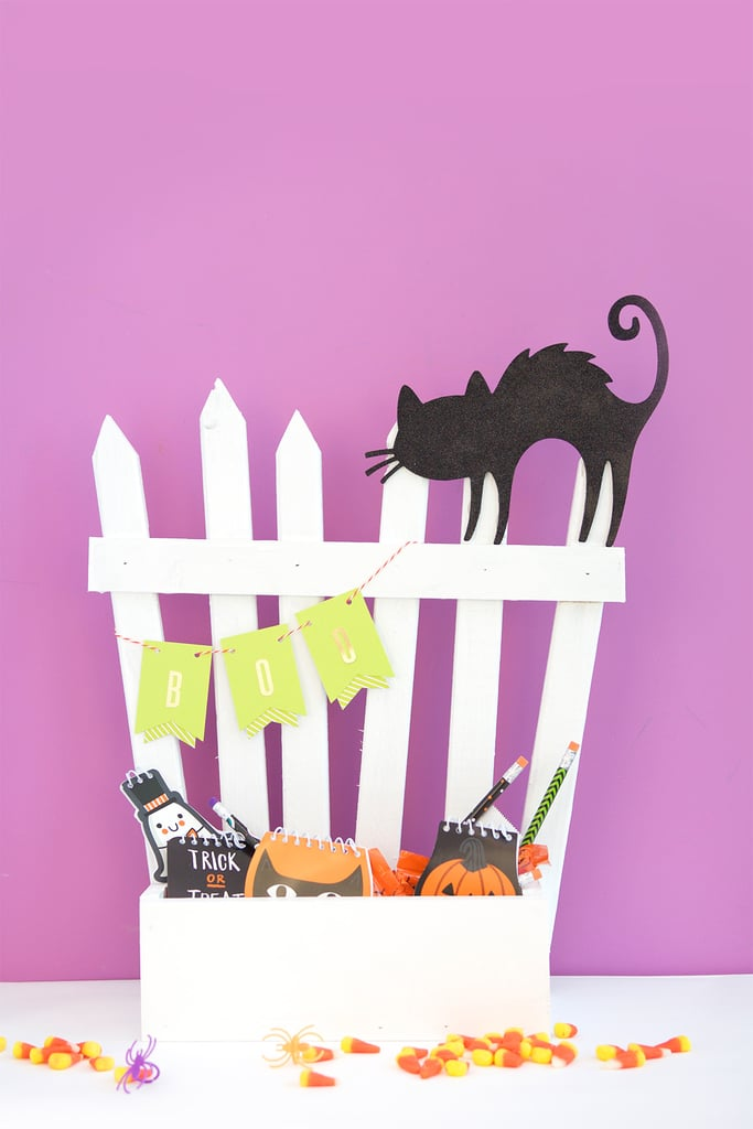Spooky Fence Candy Holder
