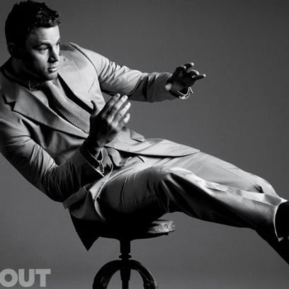 Channing Tatum Pictures in Out Magazine