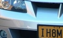 """I Hate My Ex"" License Plate"