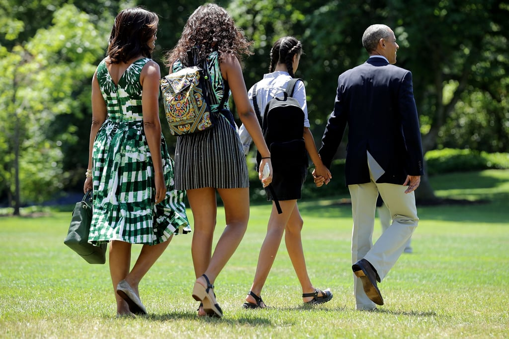 The Obamas US National Parks Plane Style June 2016