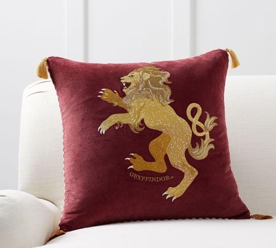 Harry Potter Gryffindor Hogwarts House Pillow