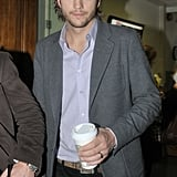 Ashton Kutcher Attends London Interviews and Signs Autographs For No Strings Attached