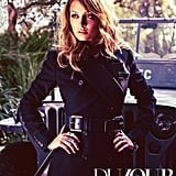 Nicole Richie covered the October 2012 DuJour.