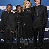 Madonna, Her Children, and Sean Penn at Sean Penn's Help Haiti Gala