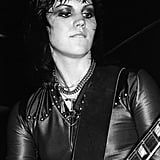 Joan Jett in 1977 Performing with The Runaways