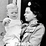 Prince Andrew, 1961