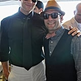 Tom Brady and Wes Welker at the Kentucky Derby.