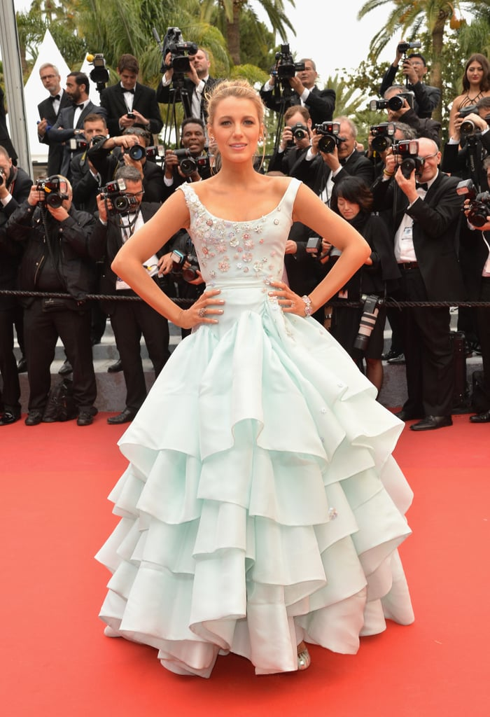Blake lively 39 s best red carpet dresses popsugar fashion - Designer red carpet dresses ...