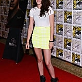 Kristen Stewart attended the Breaking Dawn Part 2 panel during Comic-Con.