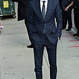 Andrew Garfield wore a dapper suit on the streets of NYC in June 2012.