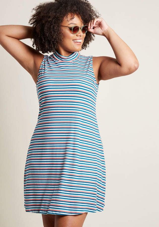 ModCloth Sleeveless Knit Dress