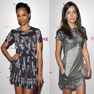 Coach's Charity Cocktail Event: Photos of Scarlett Johansson, Emma Roberts, Camilla Belle, and Zoe Saldana