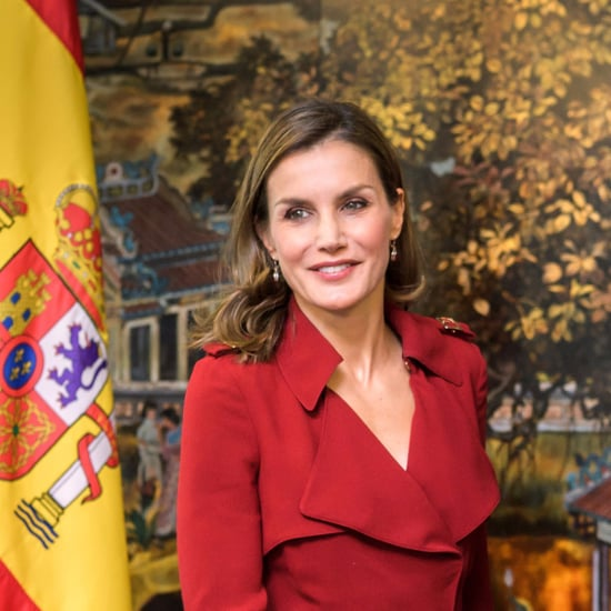 Queen Letizia Red Pumps
