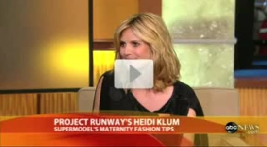 Heidi Klum on GMA