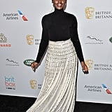 When She Gave a Little Shimmy at the British Academy Britannia Awards