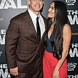 April: Nikki Joined Her Man at the NYC Premiere of The Wall