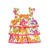 Janie and Jack Floral Tiered Top
