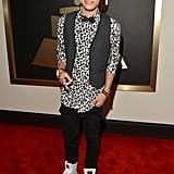 Roshon Fegan at the 2014 Grammy Awards.