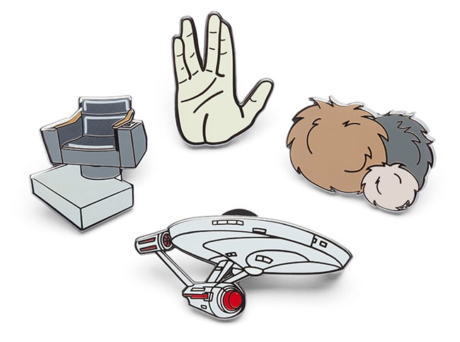 Star Trek: The Original Series Enamel Pin Set