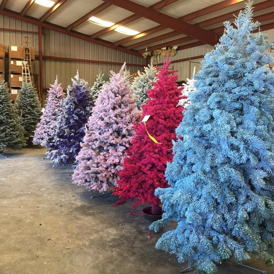 Colourful Christmas Tree Trend