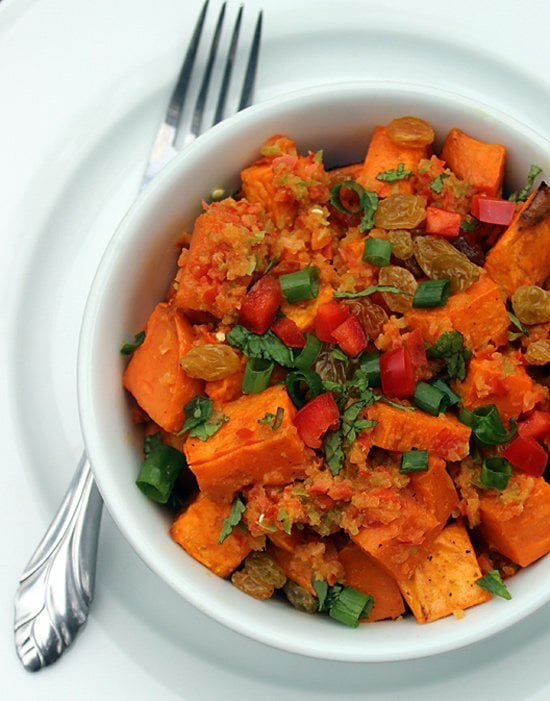 Entrée: Spicy Sweet Potato Salad