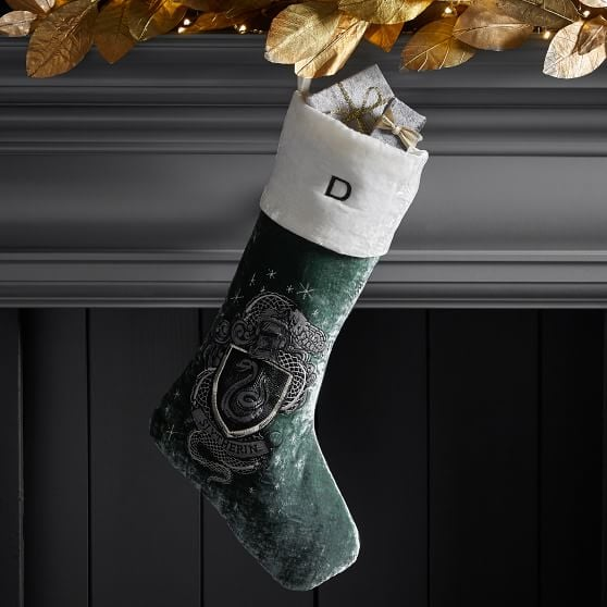 Harry Potter Slytherin Stocking