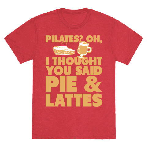 I Thought You Said Pie and Lattes
