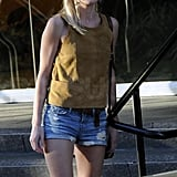 Kate Bosworth Breaks Out Her Winter Shorts to Shop!