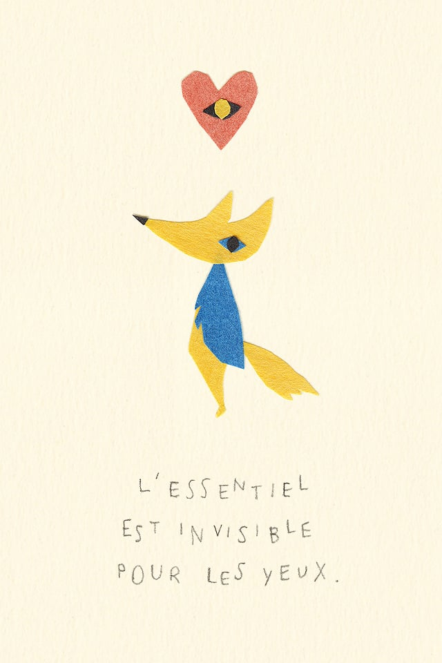 Love This Paper Cut Version Of The Fox And His Quote On Friendships. Ideas