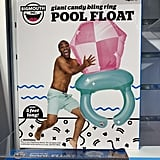 BigMouth Inc. Giant Candy Bling Ring Pool Float