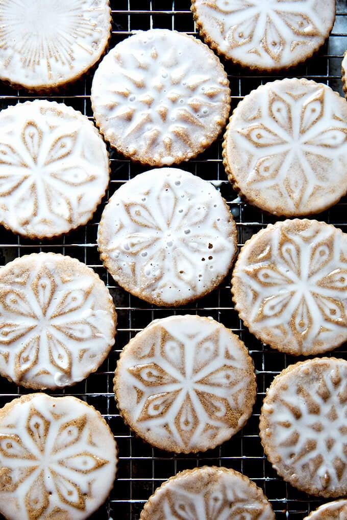Stamped Christmas Cookies