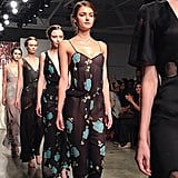 These Tocca dresses would be just as at home on the street as in the bedroom.
