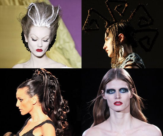 10 of the Hottest Hair and Makeup Styles From 2010 Spring Couture Week 2010-01-29 06:00:00