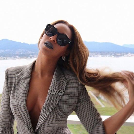 Beyonce's Grey Lipstick