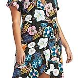 Rachel Rachel Roy Floral Print Wrap Dress