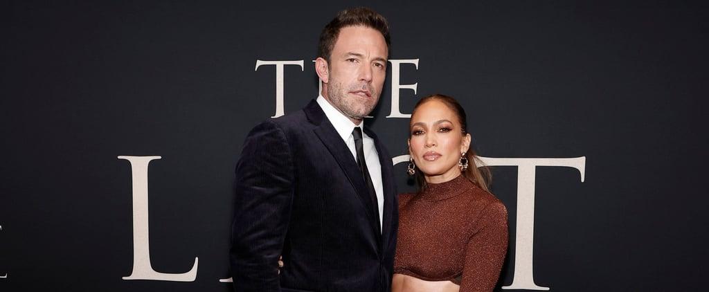 Jennifer Lopez Wears Hervé Léger to The Last Duel Premiere