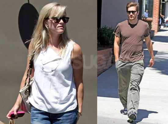 Photos of Reese Witherspoon and Jake Gyllenhaal Out to Lunch in LA