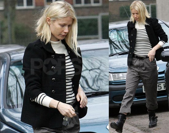 Gwyneth and Apple in London