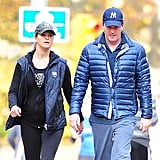 Princess Madeleine and her husband showed off their pride for New York while taking a walk in Central Park last November.