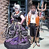 Steampunk Ursula and Triton — The Little Mermaid