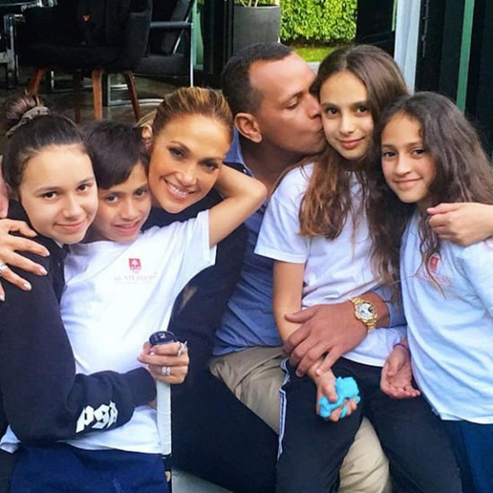 Jennifer Lopez and Alex Rodriguez Blended Family Pictures