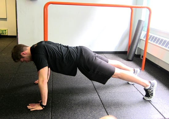 Plank Lunge and Box Jump Circuit Workout For Skiers