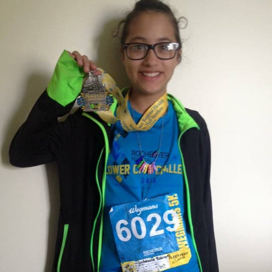 12-Year-Old Girl Runs Half-Marathon by Accident
