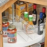 mDesign Lazy Susan Kitchen Food Storage Organizer Bin